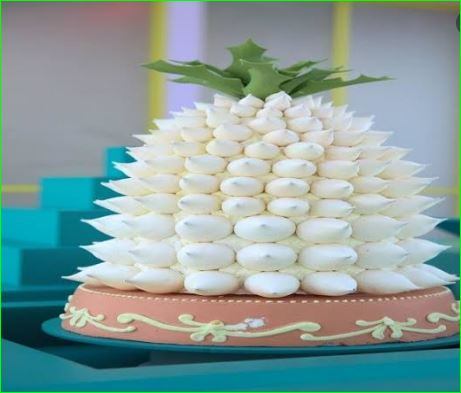 Worlds Lightest Dessert Is 96 Percent Air weighs Just One gram