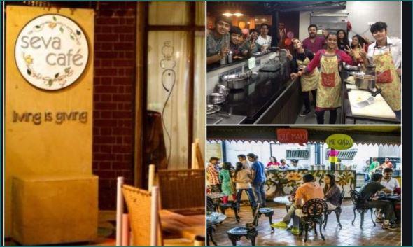 ahmedabad seva cafe serve food for free