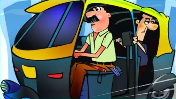 pune auto driver saves life