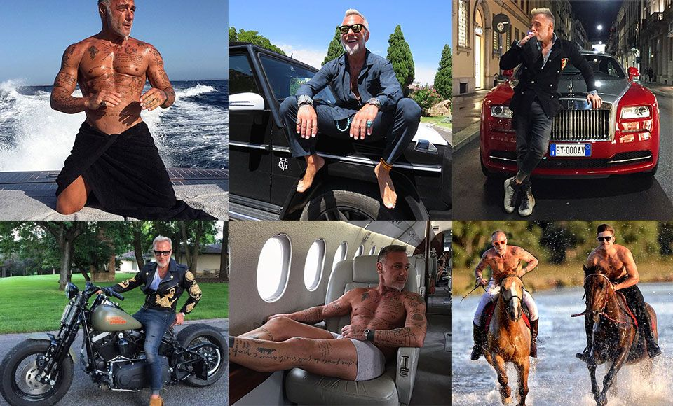 50 year old gianluca vacchi pictures