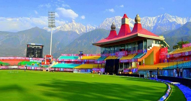 dharmshala most beautiful stadium of the world