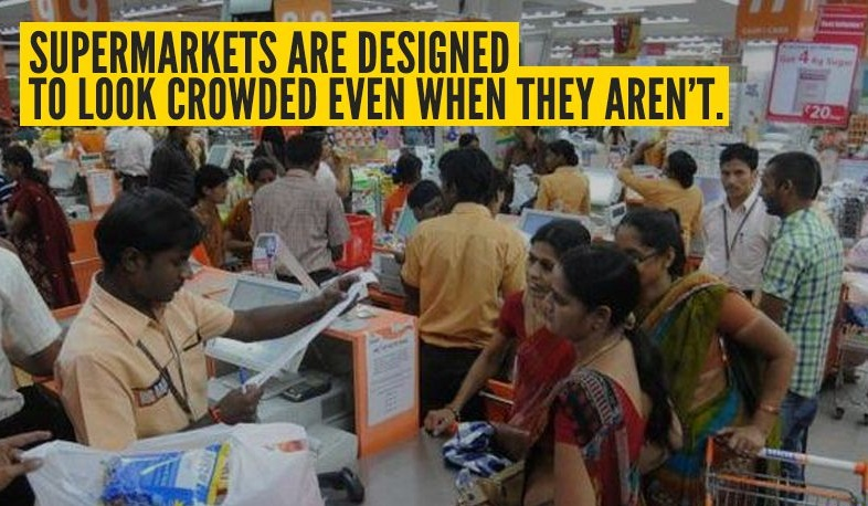 facts about the super markets,