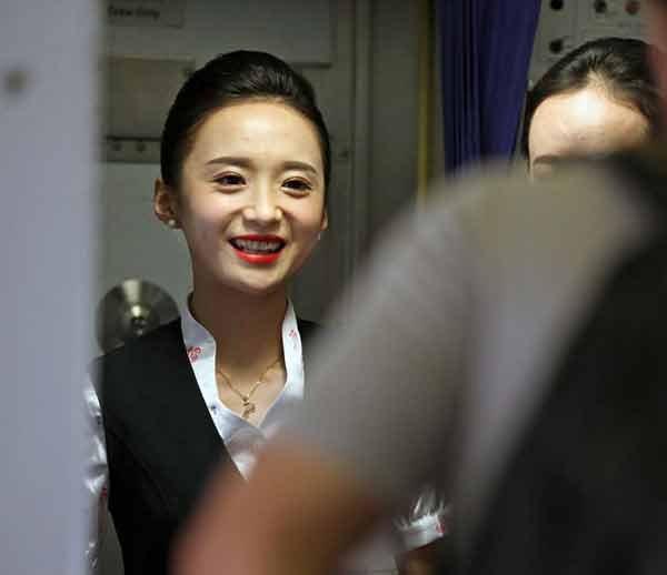 chinese girl air hostess photos