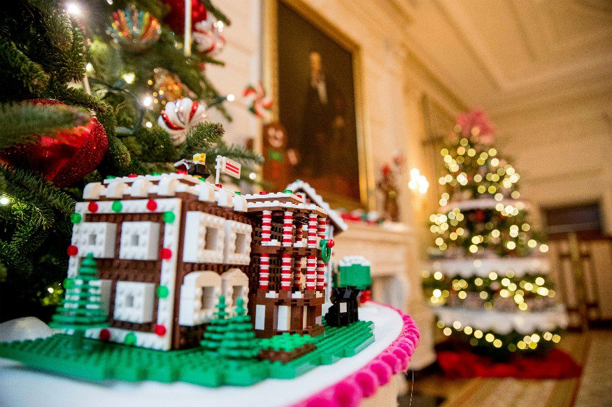 last christmas celebration in white house  of obamas family