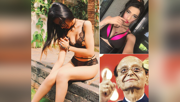 ramanand sagar great granddaughter bikini pictures goes viral