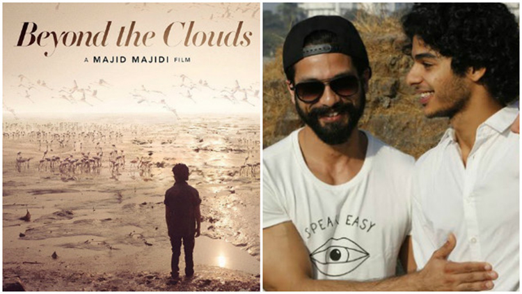 first poster of shahid kapoors brother ishaan khattars debut film beyond the cloud