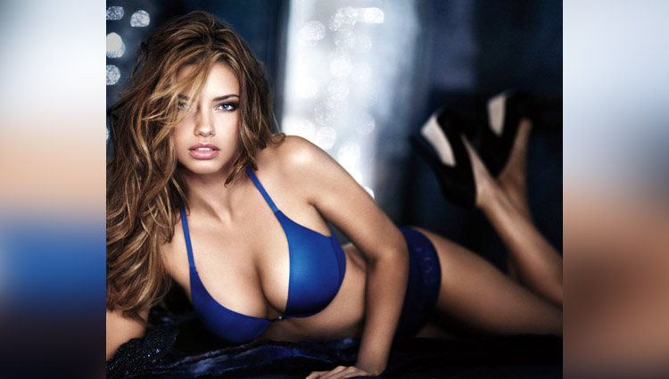 victoria secret model adriana lima is too hot