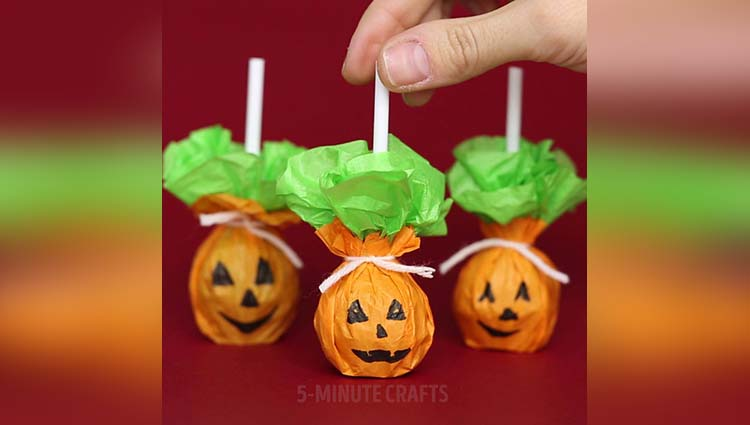 3 sweet ideas for Halloween treats.