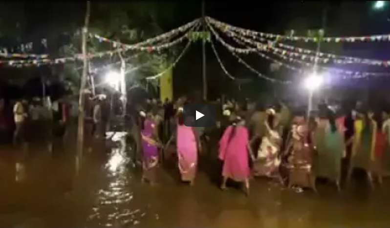 Amazing Garba Dance Of Village People