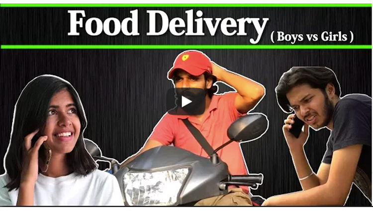 Food Delivery Boys vs Girls ft Sejal Kumar Sadak Chhap