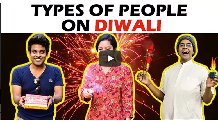 Types of People on DIWALI The Half Ticket Shows