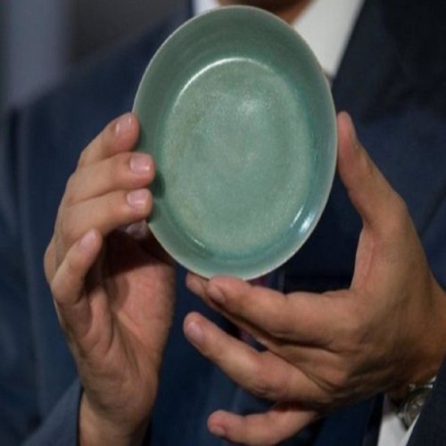 The cost of this bowl is in crores
