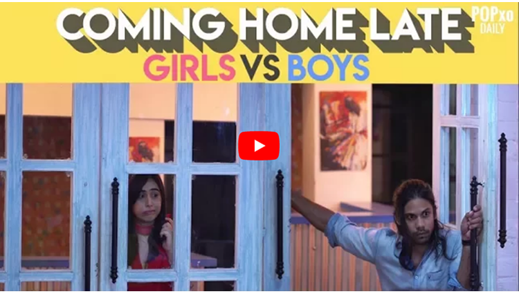 Coming Home Late: Girls Vs Boys