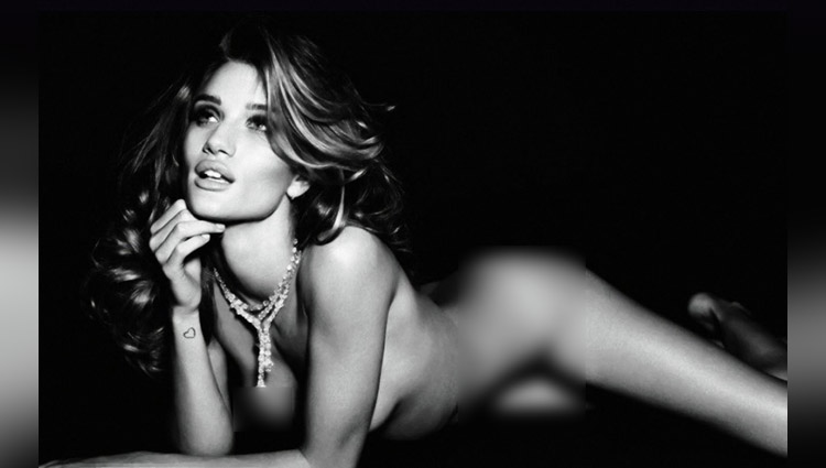 Rosie Huntington share her hot photos