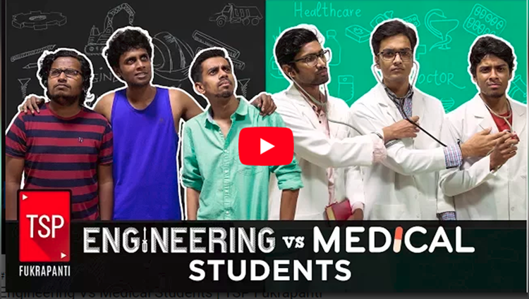 Engineering Vs Medical Students TSP Fukrapanti