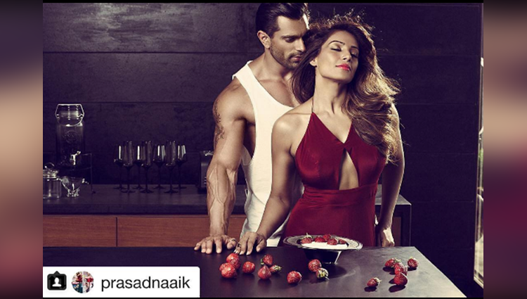 These sizzling images of Bipasha Basu and Karan Singh Grover from Playgard Condoms ad campaign