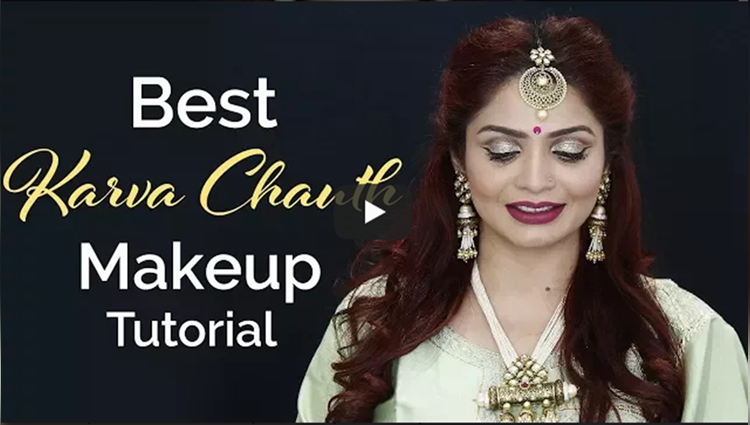 Best Karva Chauth Makeup Tutorial 2017 Glamorous Karwa Chauth Look Krushhh by Konica