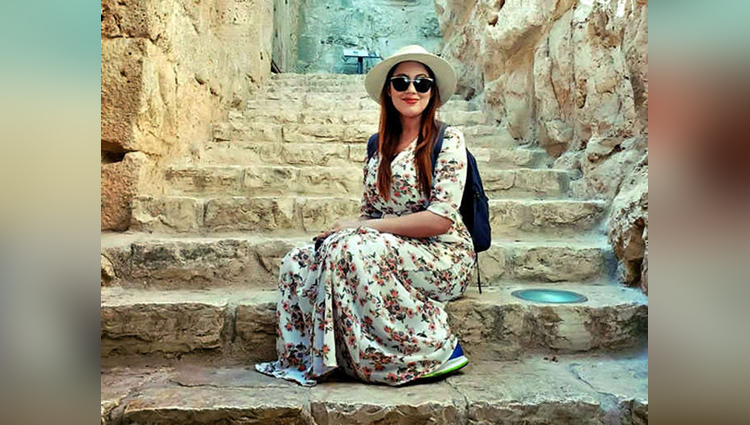 Taarak Mehta Ka Ooltah Chashma Babita Aka Munmun Dutta Is Holidaying Away In Jordan