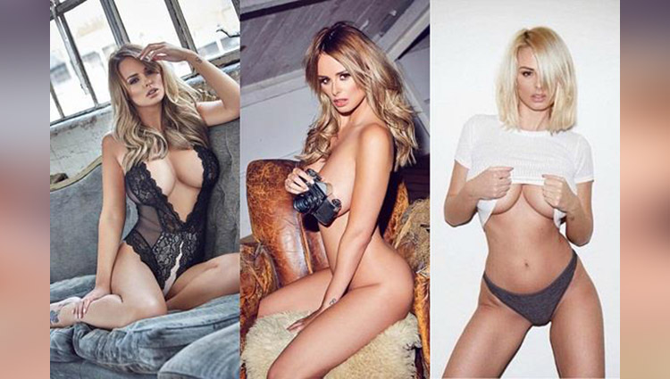 Rhian Sugden share her nude photos