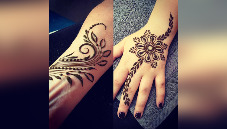 karva chauth Special Mehndi Designs