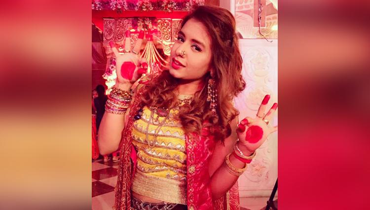 Aishwarya Majmudar share her navratri photos