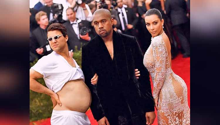 Man Photoshops Himself Into Celebrity Photos