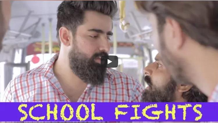 school fights be like