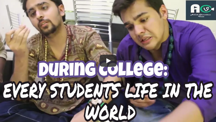 During College: Every Students Life In The World || Ashish Chanchlani