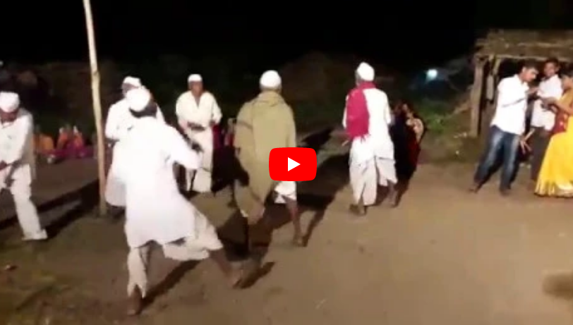 amazing garba dance by farmers