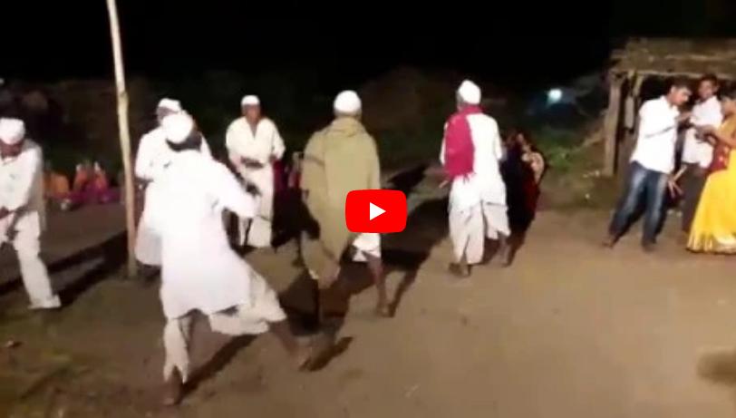 amazing garba dance by farmers