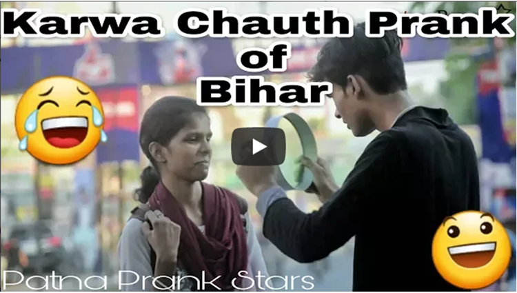 Karwa Chauth Hilarious Prank of Bihar Awesome Reaction Awesome Moment
