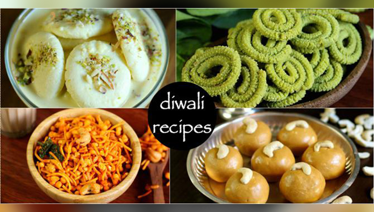 Some mouth-watering Diwali Snacks!!