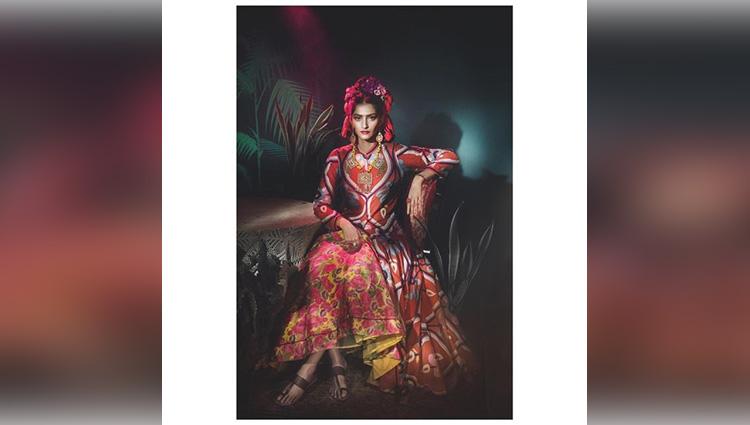 Vogue photo shoot pictures of Sonam Kapoor 2017