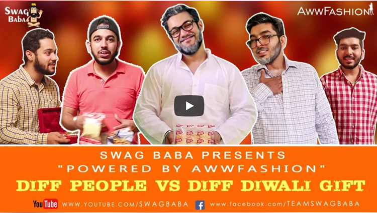 Different People V/s Different Diwali Gifts