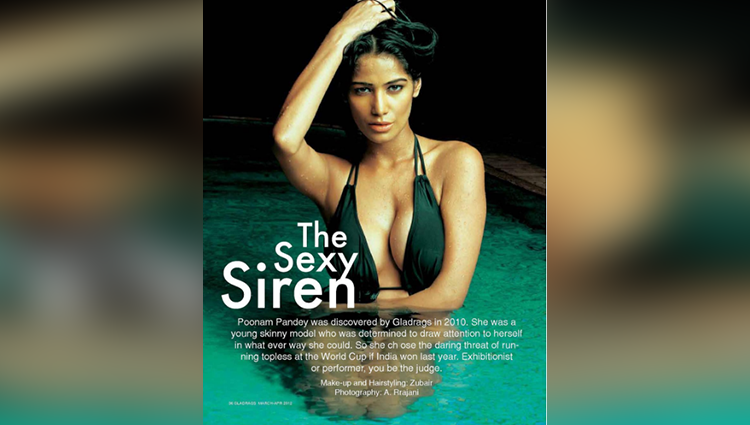 poonam pandey hot throwback picture