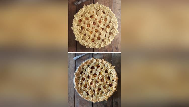 Baker Reveals Amazing Pie Crust Designs in Before & After Photos