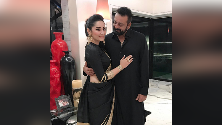 manyata dutta share latest diwali pictures with sanjay dutt