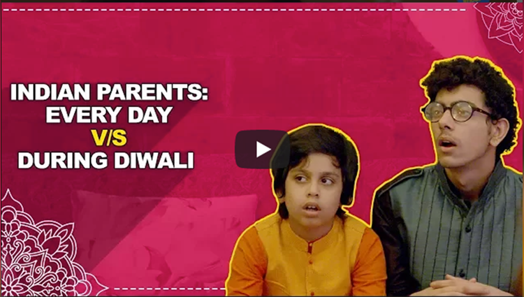 ScoopWhoop Indian Parents Every Day vs During Diwali