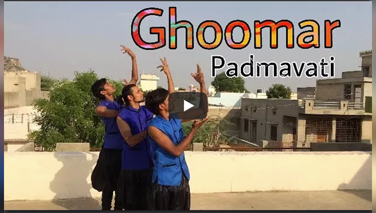 Ghoomar Song Padmavati Ashish Raval Choreography Ad Group Of Dance
