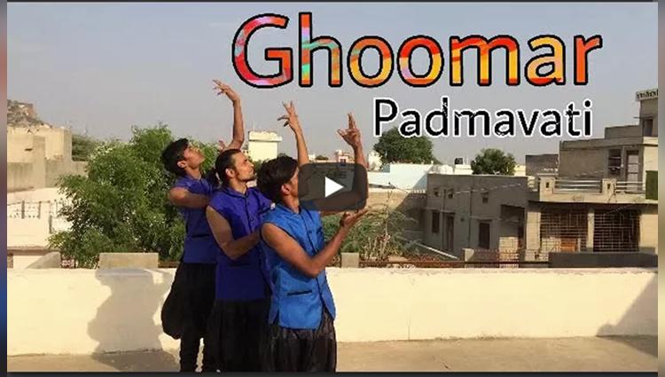 Ghoomar Song Padmavati Ashish Raval Choreography Ad Group Of Dance