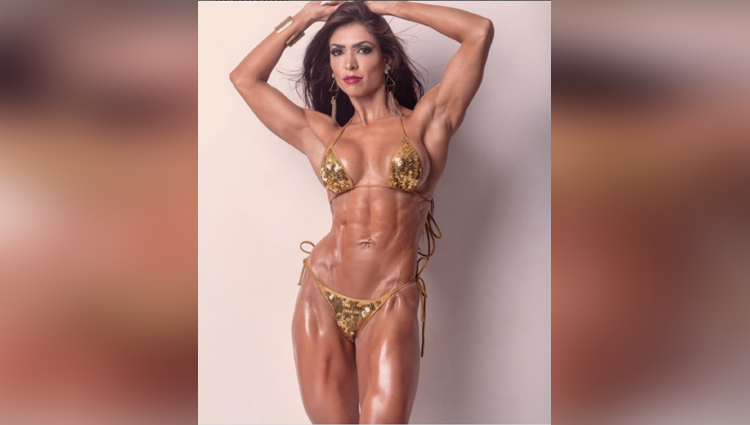 Brazilian Fitness Model Muri Rodrigues popular as Brazilian bombshell
