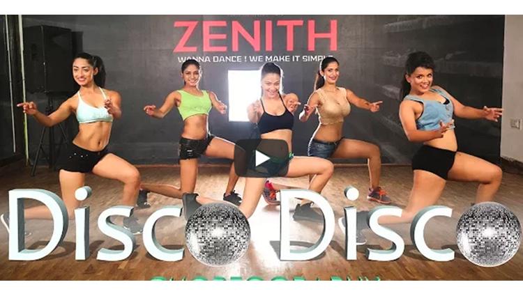 Disco Disco Choreography A Gentleman Sachin-Jigar Zenith Dance