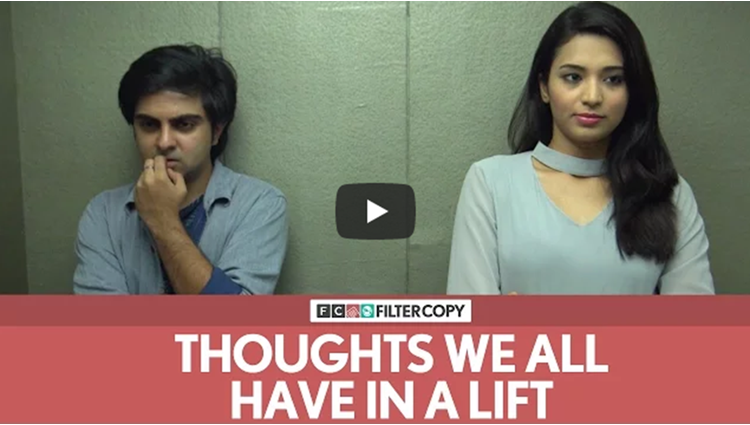 FilterCopy Thoughts We All Have In A Lift or An Elevator Ft Akash Deep Arora
