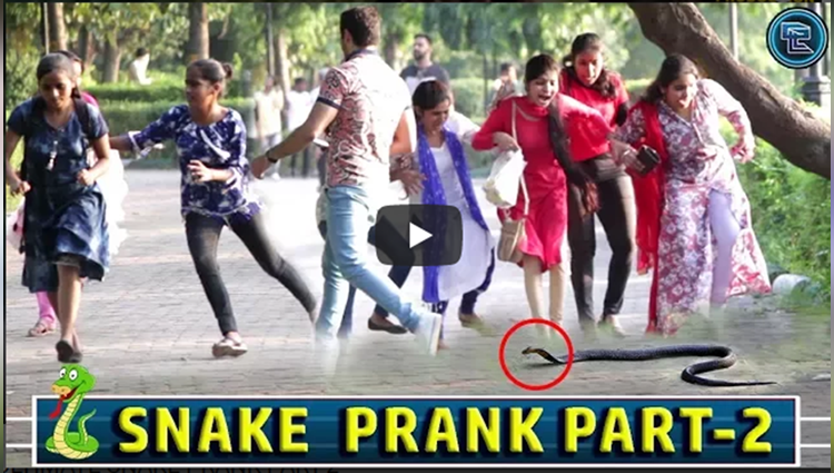 ULTIMATE SNAKE PRANK PART