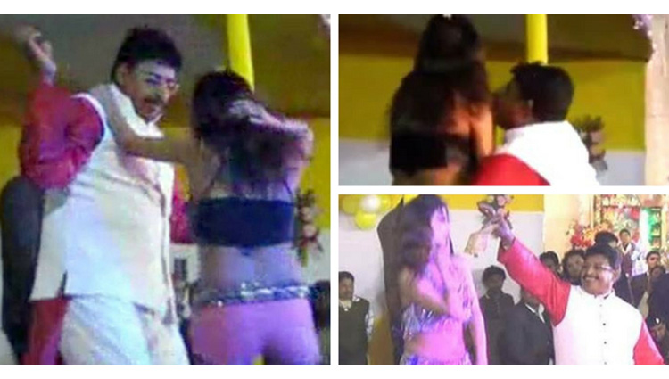 Bihar JDU MLA Abhay Kushwaha Pole Dance
