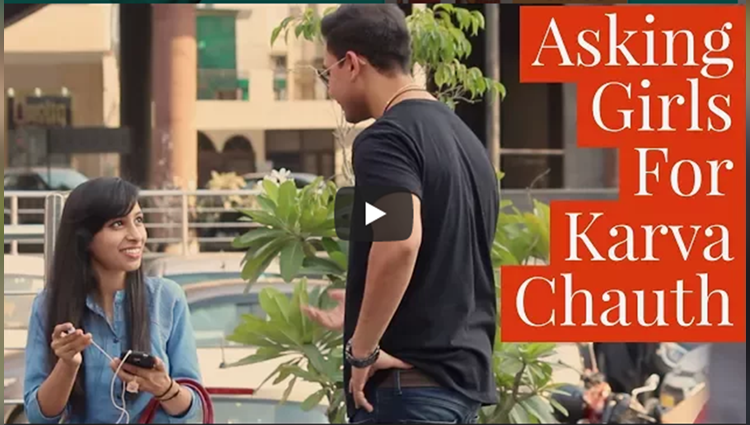 Asking Girls To Keep KARVA CHAUTH VRAT Funny Video Must Watch Best Pranks In India