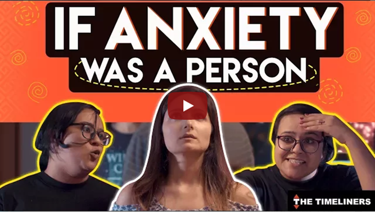 If Anxiety Was A Person The Timeliners
