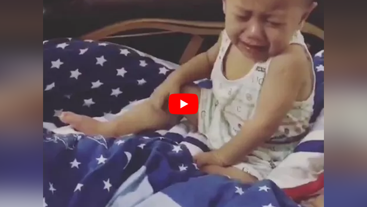 funny baby crying for money