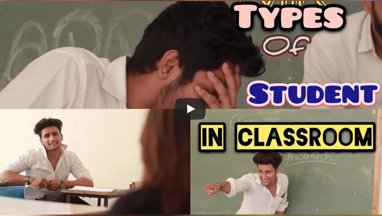 types of student in classroom