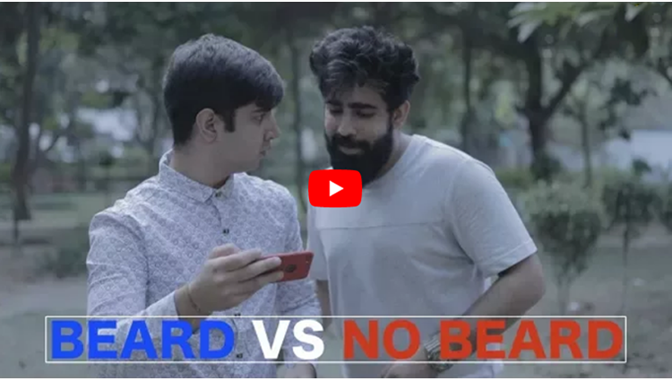 beard men vs clean shave